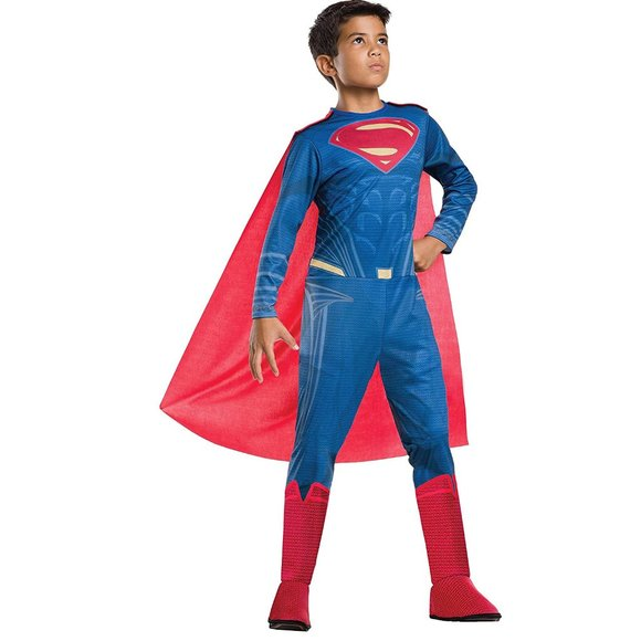 NWT Rubie's Justice League Boy's Superman Costume